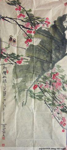 【原创】红了樱桃绿了芭蕉 - 关中醉人 - 徐保林花鸟画