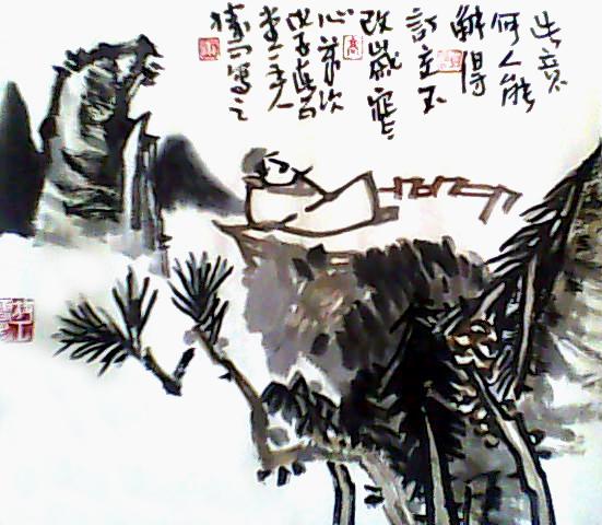高胜雨作品  云水禅心[2] - 高胜雨 -  高胜雨