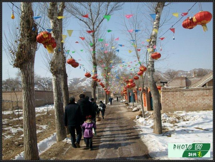 春节上坟图 - 刘兴亮 - 刘兴亮的IT老巢