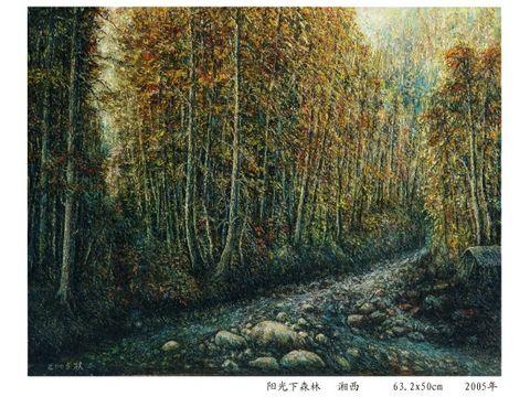 阳光下的森林 - 雷枚 - 雷枚