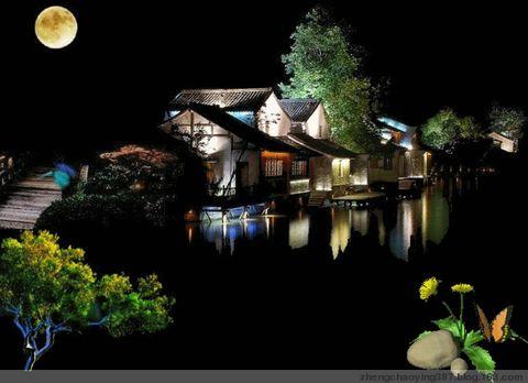 原创-古体-诗歌《湖光春月》文/光明之子 - 光明之子 - zhengchaoying博客