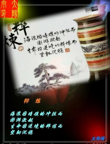 人生经典十二句(音画原创) - 太阳雨 -