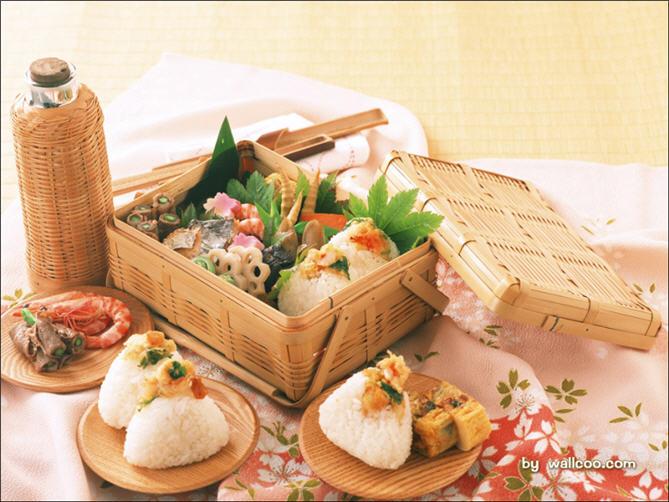 精致的日本美食