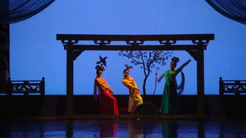 游走西安——陌生的夜,空灵的舞 - 寒  江  映  雪 - 寒江映雪