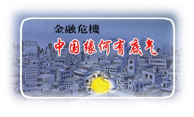 (原创)面对金融危机中国的底气来自哪里 - 俊朗的阳光 -         临街的窗