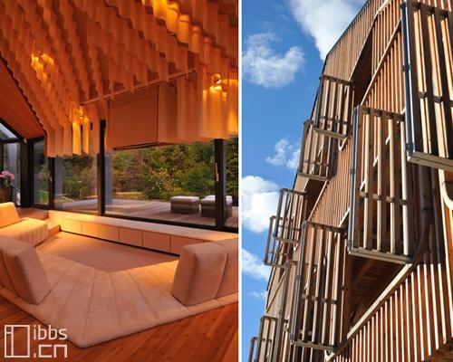 斯洛文尼亚前卫二合一石木住宅 - 何泛泛 - 何泛泛|IT独唱团
