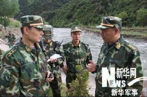 武警急行军突进汶川时所拍照片首度公开 - 一片军心 - 军心飞扬
