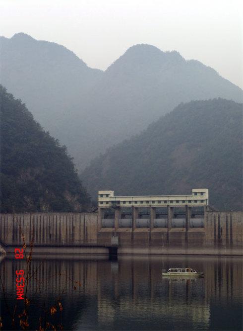 沃州湖乘快艇(楠溪江之旅七) - 七里夫子.黑桦 - 黑桦(又名:七里夫子)