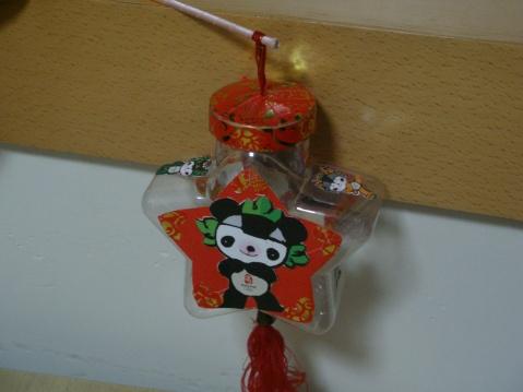 嘉嘉的灯笼(奶奶做的)图片