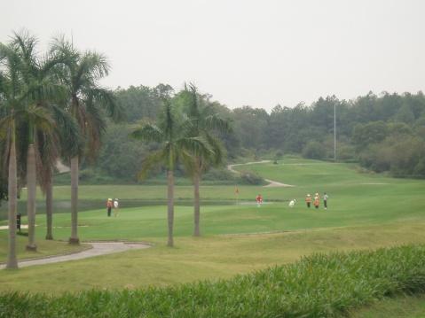 肇庆高尔夫球场 - 水静流深 - 水静流深