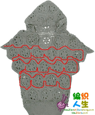 韩版一线连六角毛衣 - 梅兰竹菊 - 梅兰竹菊的博客