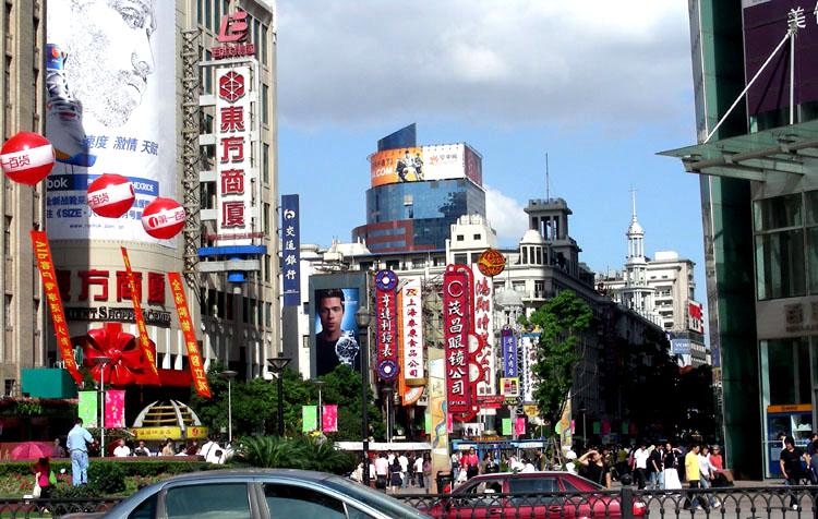上海即景 - 老陈博客 - 老陈博客