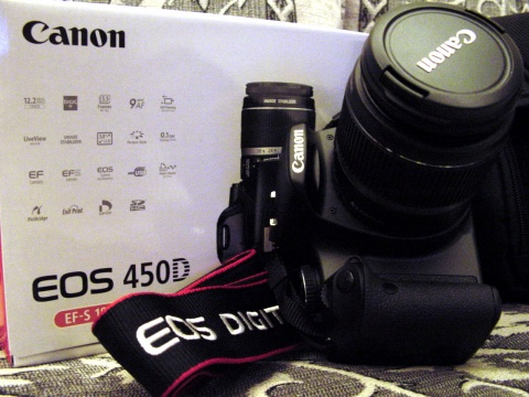 Canon佳能EOS450D - 老虎大叔 - 活在过去