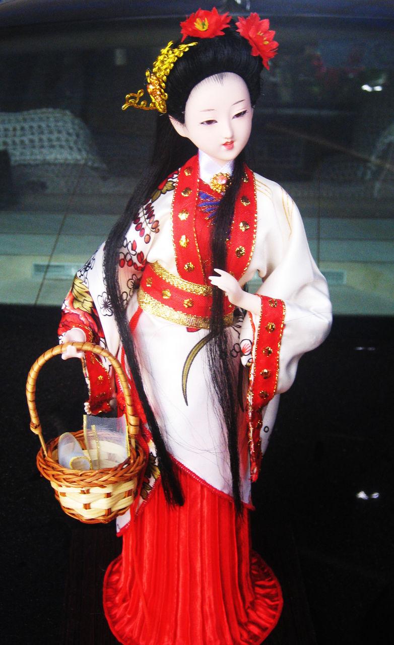 中国古代四大美女唐人坊绢人