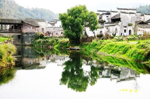 [原创]中华古村(12)江西思溪《南柯子》 - 自由诗 - 人文历史自然 诗词曲赋杂谈