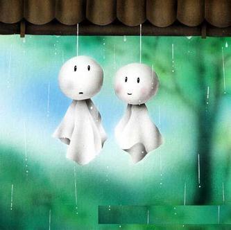 《我带着下雨的心情,想你》