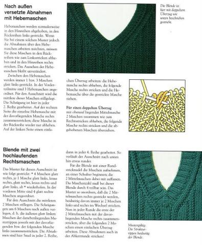 【转载】各种领子编织方法 - 最美人间四月天 - 最美人间四月天
