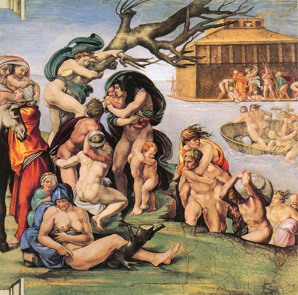 远古传说中的大洪水是真的吗