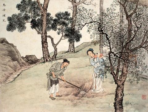 中华美德24孝故事 - 梦回故乡 - 梦回故乡