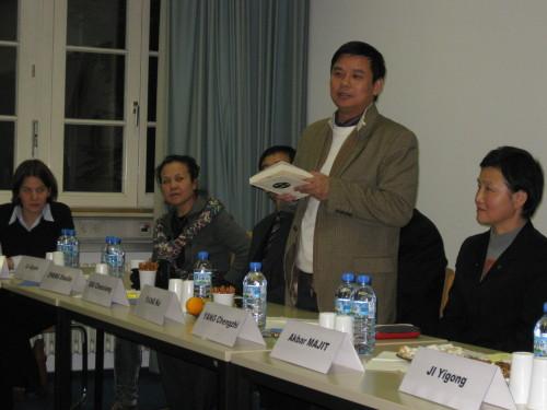 在海德堡大学等朗读诗歌 - 杨克 - 杨克博客
