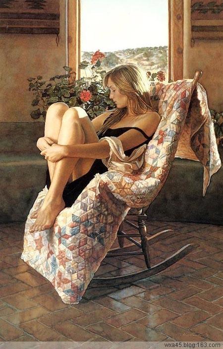 介绍美国顶尖的水彩画家斯蒂夫·汉克斯的作品 - 粉画家吴锡安(亚亚) - 粉画家吴锡安(亚亚)