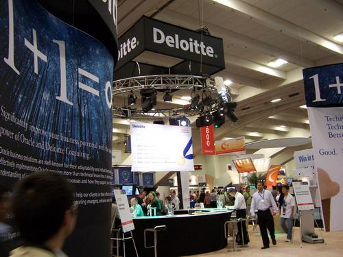 看图不说话:各大IT公司在OOW的展台 - 刘兴亮 - 刘兴亮的IT老巢