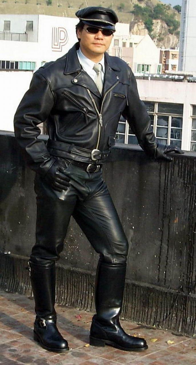皮革塑造的男人形象 - 景军 - 正气与浑雄——为您展示男人的世界