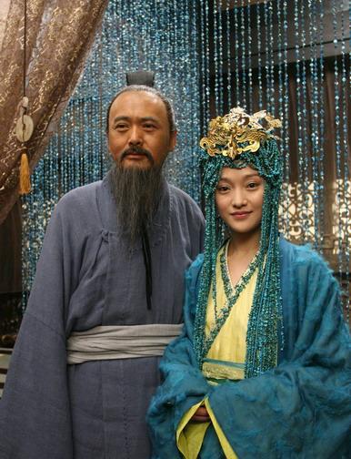 《孔子》重头戏剧照曝光 片场周迅情挑发哥 - yuruan - 黎黎影视明星博客