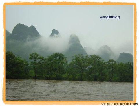 雨中漓江更甲天下 - 杨柳 - 杨柳的博客
