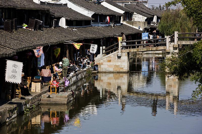 走马观花——江南古镇西塘(原) - 菜鸟 - 菜鸟