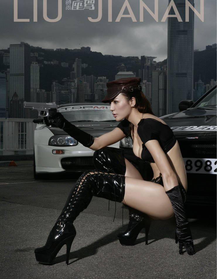 国内十大顶级车模---时尚座驾杂志五月的片子 - 刘嘉楠 - liujianan1977 的博客