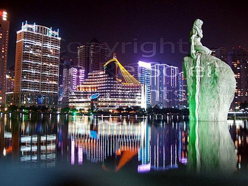 美麗的廈門夜景 - 焦恩俊 - 焦恩俊的博客