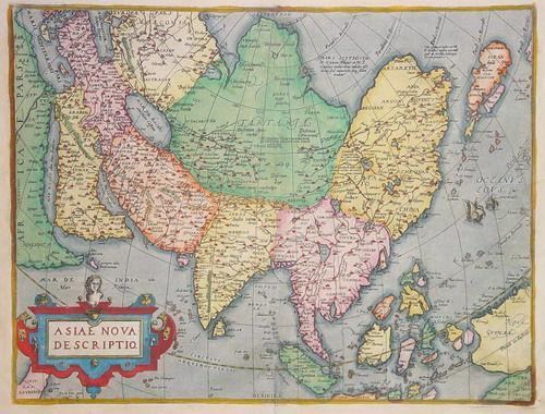 西方人绘制的早期中国地图(组图) - 张栋伟 - 张栋伟的博客