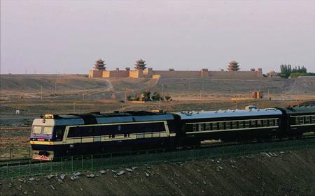 《西去列车的窗口》(贺敬之) - 铁道兵kg7659 - 铁道兵kg7659