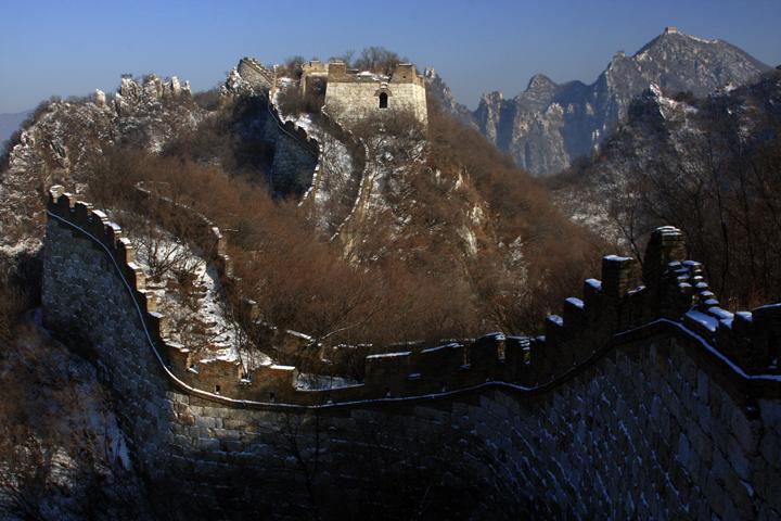(原创摄影)箭扣长城冬日之五 - 刘炜大老虎 - liuwei77997的博客