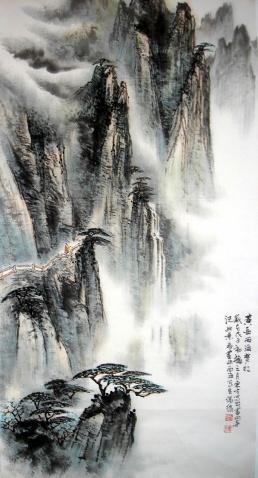 刘东方国画山水作品 - 东方 - 刘东方