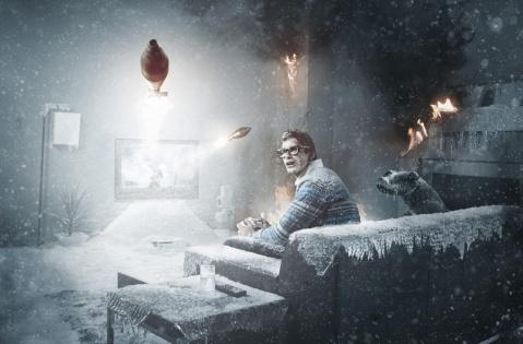 Comrade空间(特异的感觉) - 冰冷的冬天 - 包装设计达人