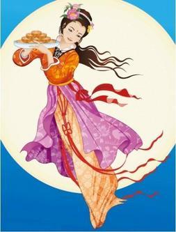 祝海内外的同学们中秋节快乐!