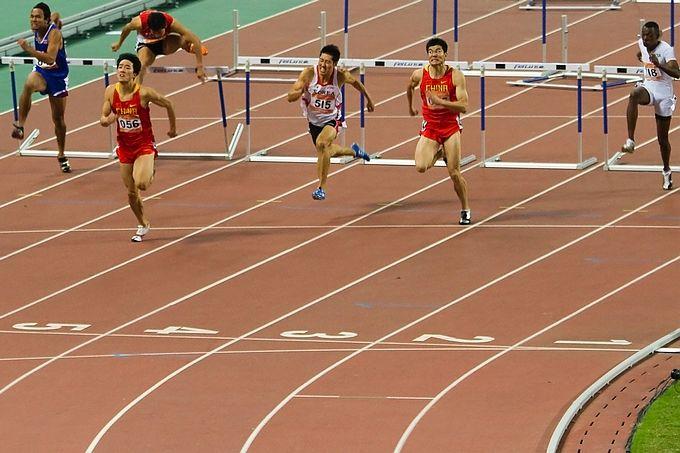 亚运直击鈥斺斎袒胤帕跸110米栏决赛