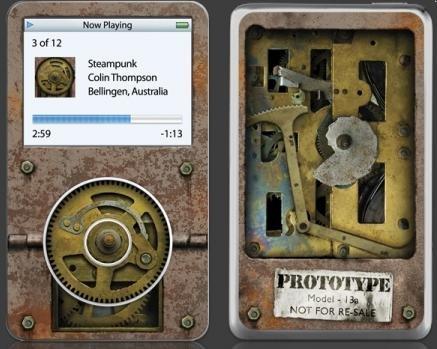 蒸汽朋克iPod外壳 - 李二嫂的猪 - 翱翔的板儿砖