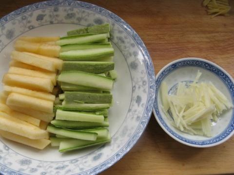 【转载】清炒苹果瓜条 - 银杏叶 - gyf6122178 的博客
