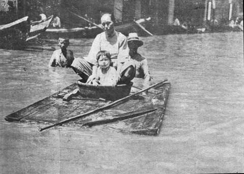 洪水中的城市--1931年被水灾围困的武汉 - 歪瓜 - 771881歪瓜的博客