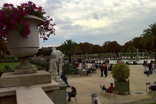 法国自由行③拉雪兹公墓 拉德芳斯 左岸 塞纳河高清图片