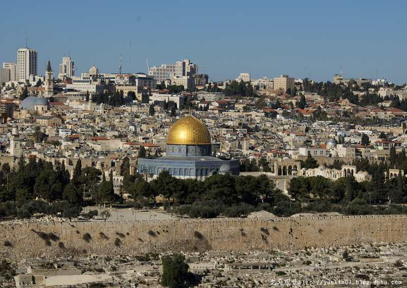 告别以色列 - 晓月 - 走马观景