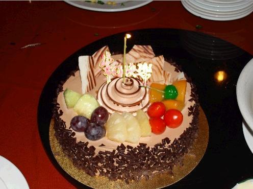 超级可爱的生日蛋糕