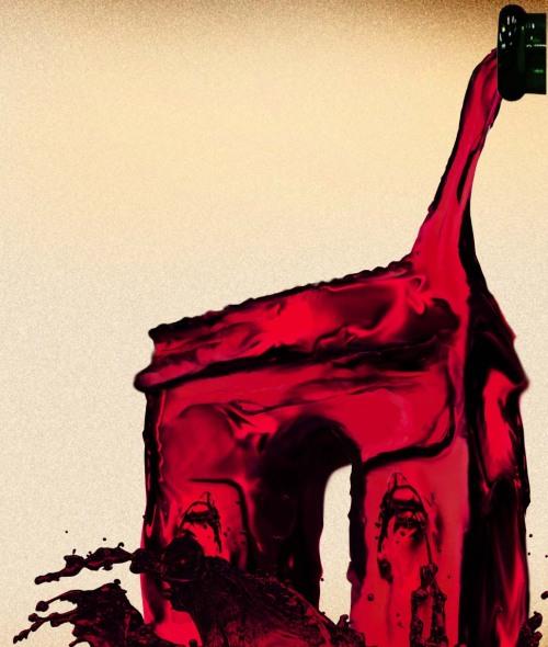 古堡中的葡萄酒公主,葡萄酒,红酒,红葡萄酒,酒圈网