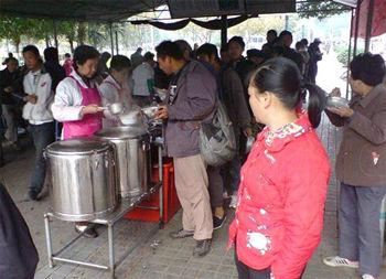 期待有更多的热粥温暖穷人的寒冬 - 赵小波 - 赵小波的博客