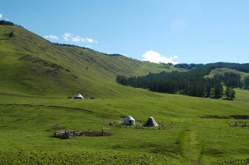 新疆-喀纳斯 - 西樱 - 走马观景