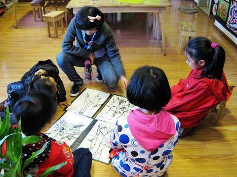 童画童心08秋季高级班美术活动9——植物写生 - 童画-童心儿童美术 - 童画-童心儿童美术