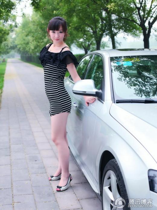 粉嫩白皙的奥迪A4女 - 影子刺客 - 汽车E族